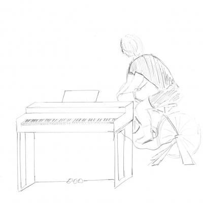 Pianocyclette