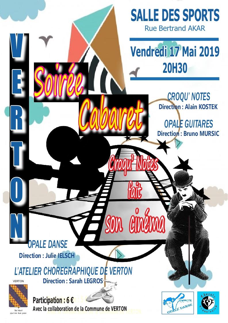 Affiche soiree cabaret 2019